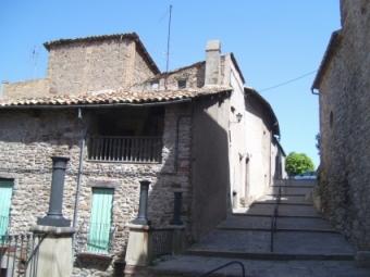Rampa de acceso al Poble Vell, desde el Castillo.