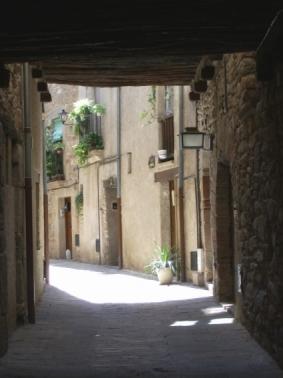 Calles del Poble Vell de Súria