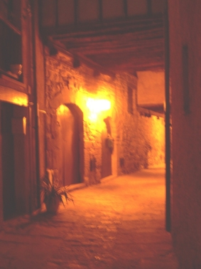 Paseo nocturno por la Edad Media